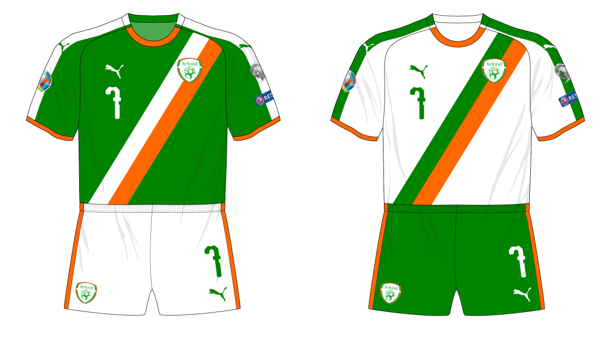Fantasy Kit Friday - Ireland in Puma