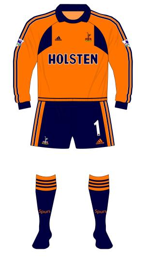 Tottenham-Hotspur-Spurs-2000-2001-adidas-goalkeeper-orange-Walker-01