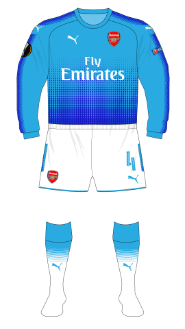 Arsenal-2017-2018-away-kit-blue-white-shorts-socks-Koln-01