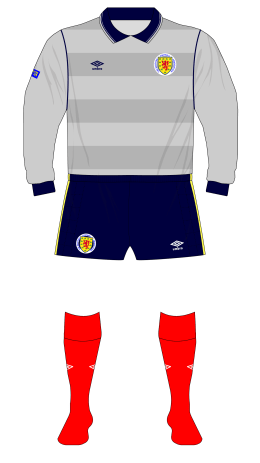 Scotland-1985-Umbro-grey-goalkeeper-shirt-Leighton-Australia-01