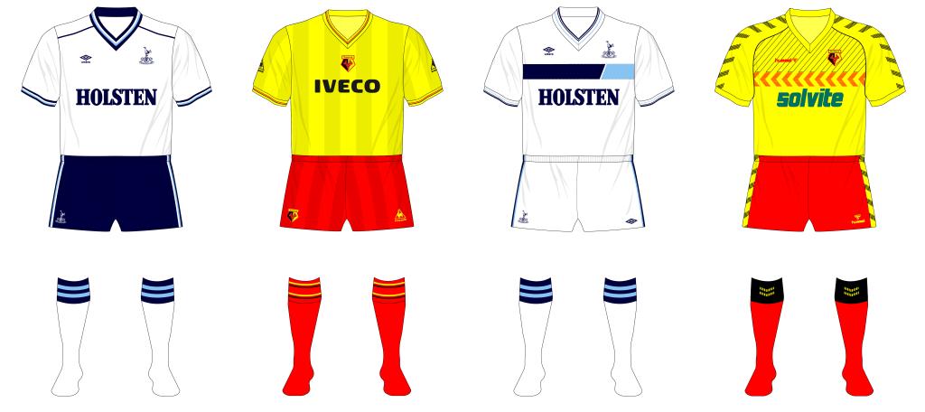 Tottenham-Watford-Fantasy-1984-1985