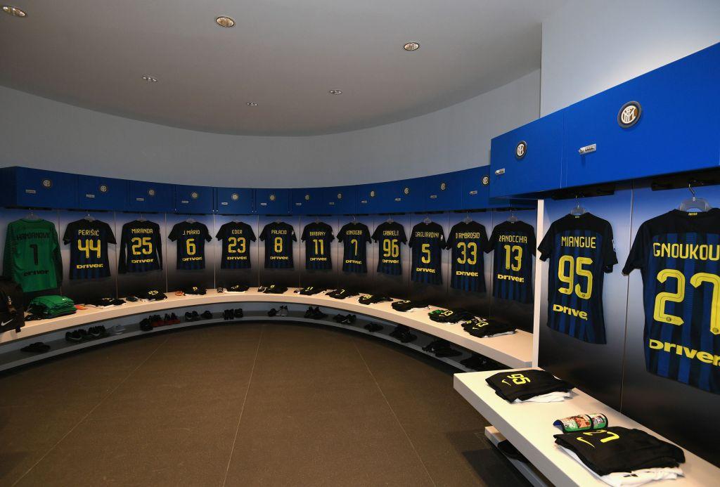 Inter dressing room