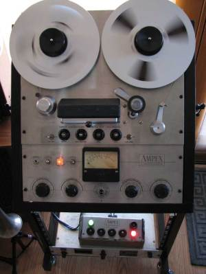 Ampex reel tape recorders • the Museum of Magic Sound