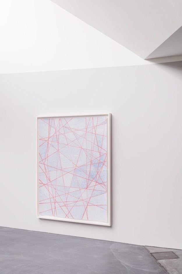 Karim Noureldin, Play, 2015, Color pencil on paper, Courtesy von Bartha, Basel.