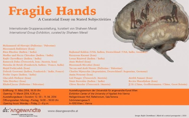 Fragile Hands Poster