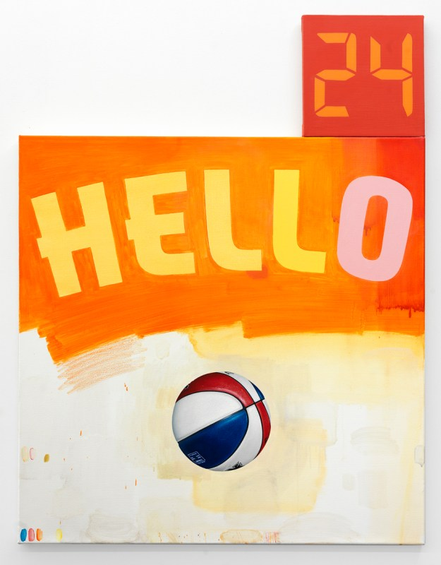 Drennen_HELLO ABA_oil&alkyd on canvas_52inches x 40inches_2014
