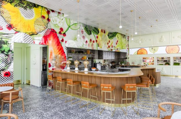 Jamba Juice, Pasadena CA designed by Bestor Architecture. Photographed by Laure Joliet