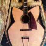 Custom Guitar Designed By Mark Fry