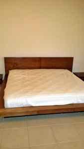 Walnut Bed Refinish
