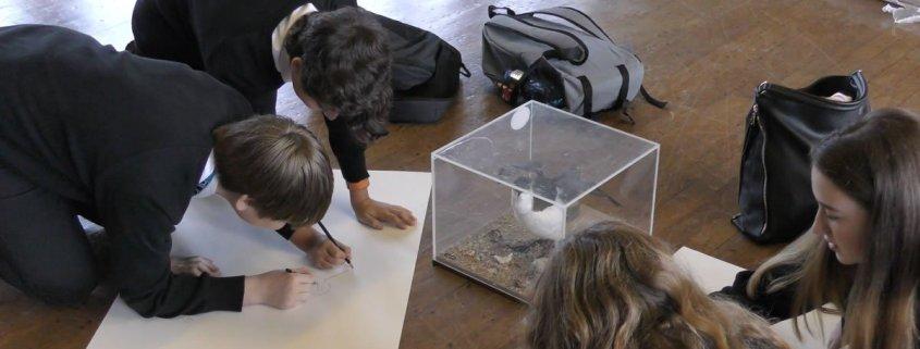 Super sensory sketchbooks