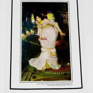 Lady of Shalott Tea Towel pic