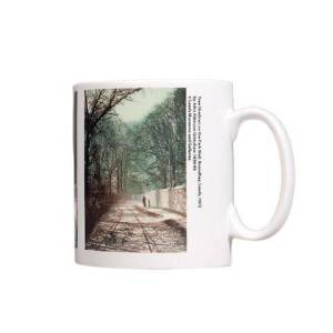 Tree Shadows on Park Wall Mug pic 1