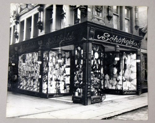 Archive photograph of Schofields shop in Leeds