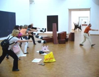 Lehrerfortbildung im Museum Ludwig (Foto: Karin Rottmann, Museumsdienst Köln)