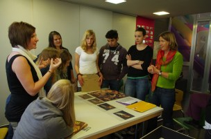 Im Atelier des Wallraf-Richartz-Museums (Foto: Museumsschule)