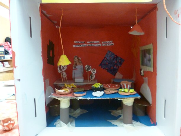 Museobilbox: Restaurant (Foto: Julia Müller, Museumsdienst Köln)