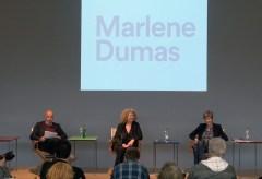 Fondation Beyeler:  Medienkonferenz in der Fondation Beyeler: Marlene Dumas. Sam Keller und Theodora Vischer