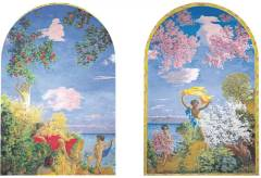 Rundgang im Kunstmuseum Winterthur: Begrüssung im Treppenhaus – Ker-Xavier Roussel und Aristide Maillol