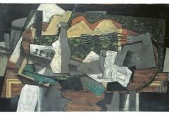 Geroges Braque – Nature morte à la guitare, 1919