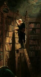 Carl Spitzweg (1808-1885), Der Bücherwurm, 1850