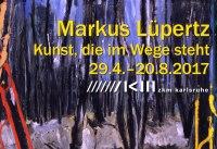 Markus Lüpertz: Kunst, die im Wege steht im ZKM Karlsruhe