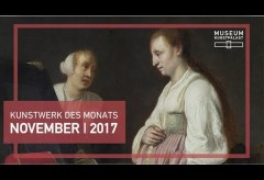 Simon Kick: Dame mit Dienerin vor dem Spiegel – Kunstwerk des Monats November 2017 im Museum Kunstpalast