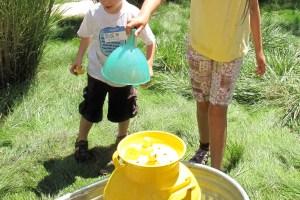 """Pump and Splash"" at Skirball Water Day."