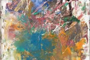 """Joni Mitchell """"L'école Buissonnière"""" at LACMA"""