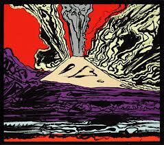 Andy Warhol. Mount Vesuvius, 1985.  Andy Warhol Museum.