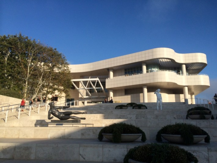 Getty Museum at Dusk
