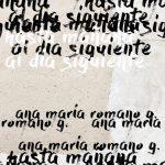 Reseña de Ana María Romano Gómez: Hasta mañana al día siguiente