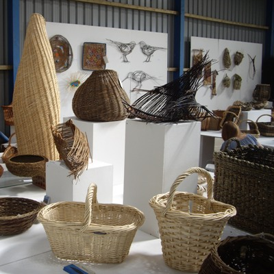 A PEEK AT OUR WORKING THE WILLOW EXHIBITION