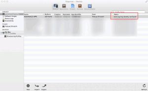 別MacのXcode