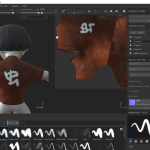 ZBrush → Substance Painter → Modo → Unity までの記録(4) : Substance Painter – ベイク編