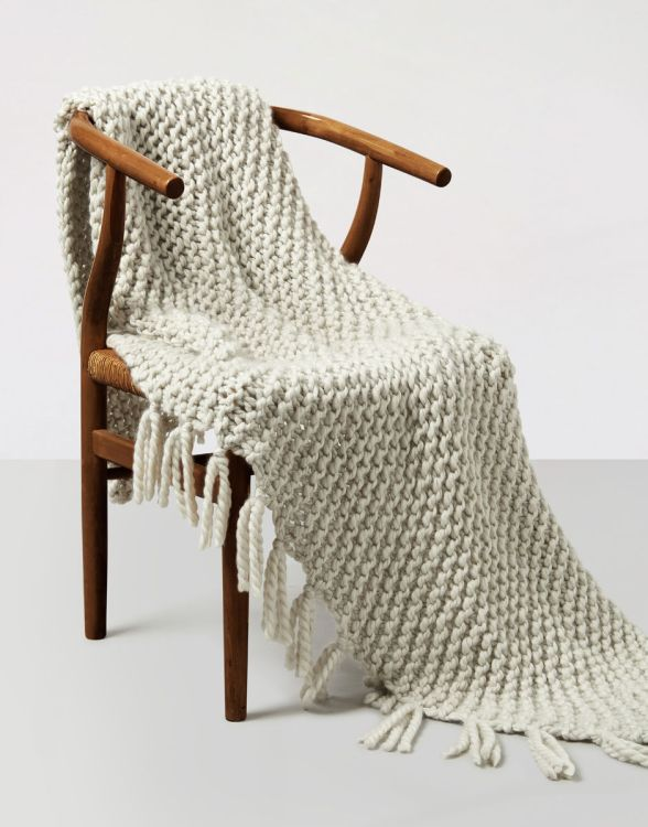 blanket for a cosy home