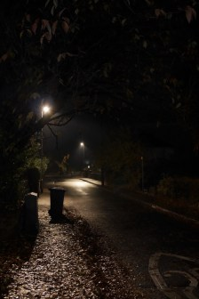 Just a residential street; like the lighting