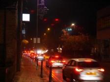A bit of traffic