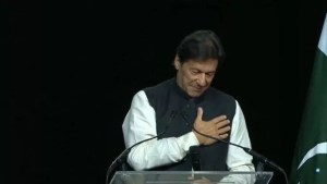 Imran Khan won the hearts of the People of America