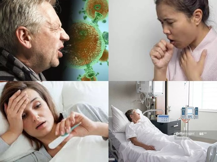Sneez, Cough, Fever and ill