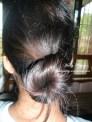 My bun-y 'do! :D