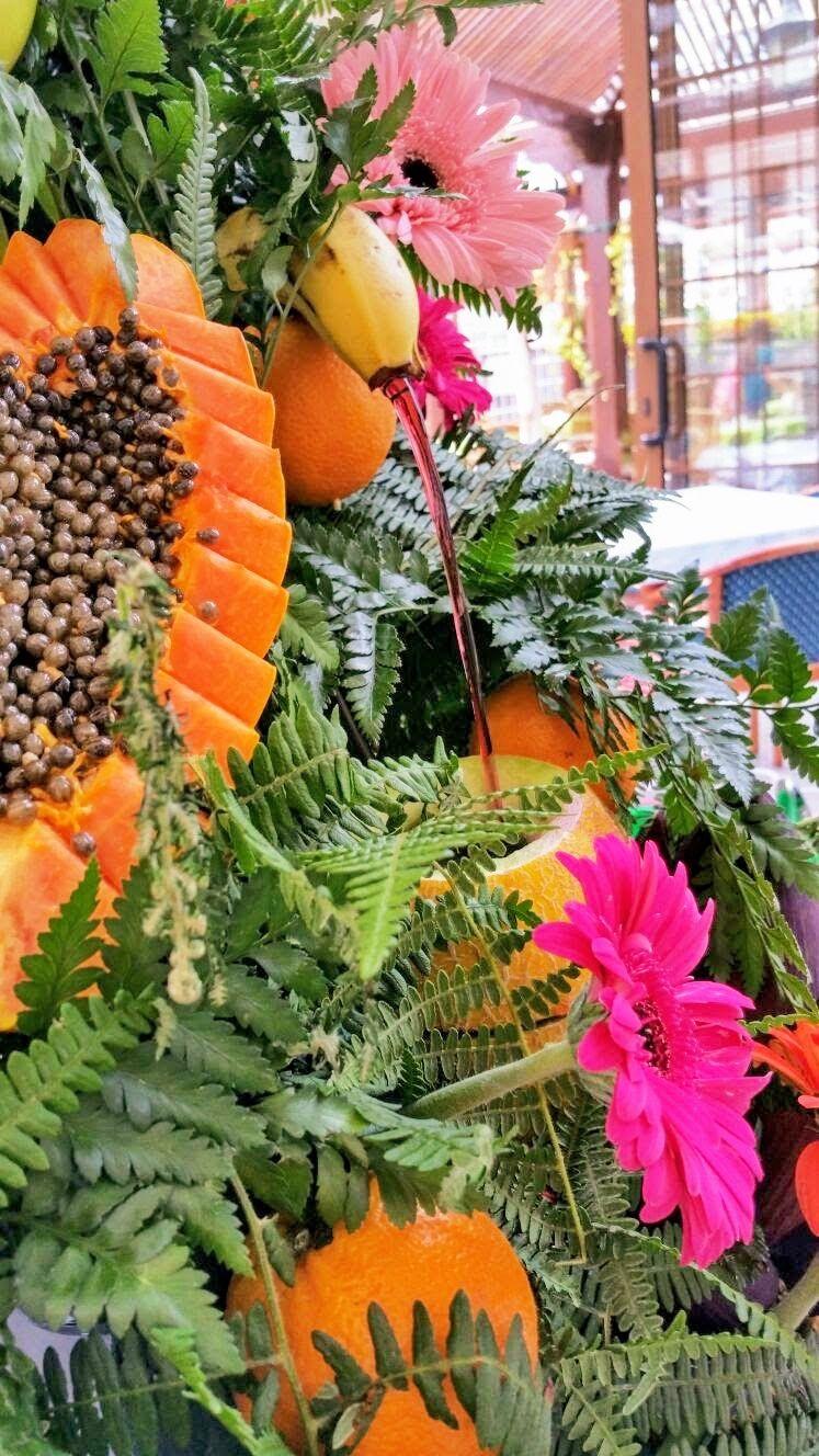 Tenerife bodas decoración frutas