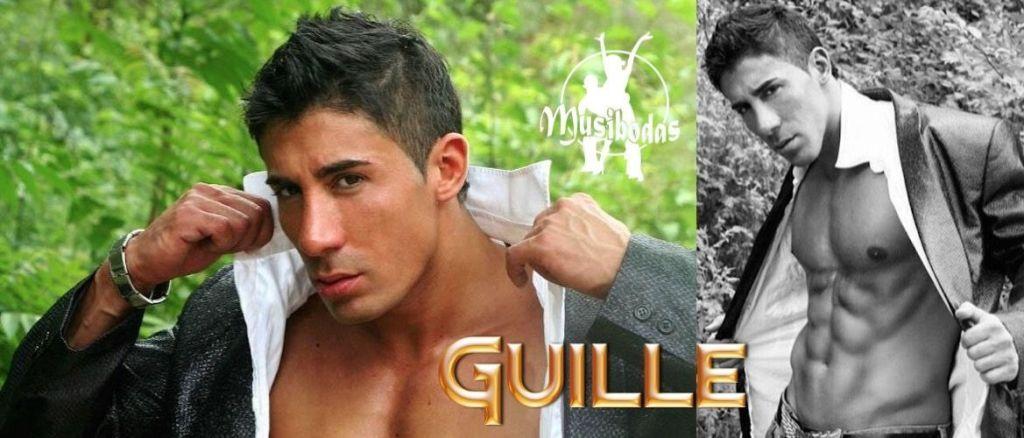 Guille, sin duda un stripper de primera línea. Disponible para shows en toda la Costa Brava