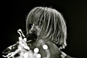 Ritzy Bryan of The Joy Formidable at The Vic-taken by me