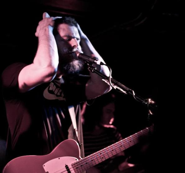 Andy Hull of Manchester Orchestra at SubT with Bad Books-taken by me