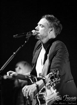 Mikel Jollett of The Airborne Toxic Event at The Vic