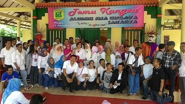 Organ Tunggal Acara Reuni SMA Budaya Jakarta