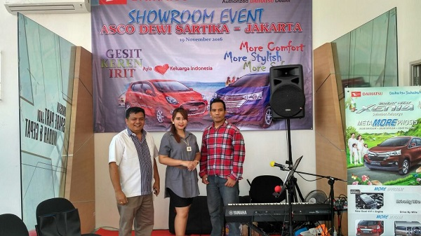music-rental.com - Sewa Organ Tunggal Showroom Event Daihatsu.