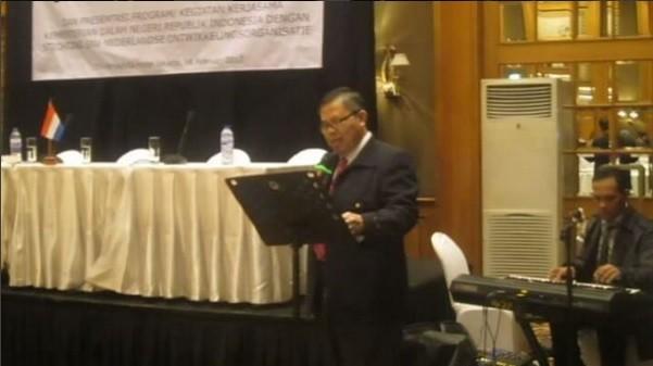Sewa Organ Tunggal Acara Penandatanganan MOU Kerjasama antara PT.SNV - Kemendagri Arya Duta Hotel