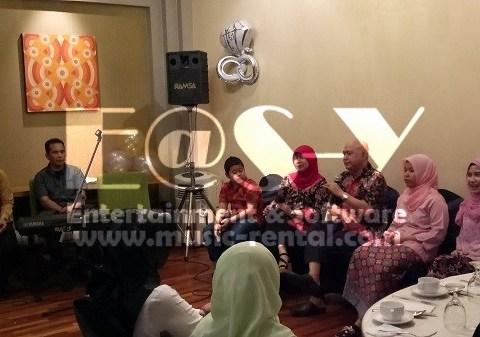 Sewa Organ Tunggal Buka Bersama 2017 dan HUT Pernikahan ke-25th Ibu Fitri Bpk Syaiful