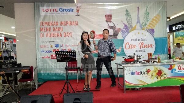 Sewa Organ Tunggal Demo Masak Lottemart Kelapa Gading Jakarta Utara